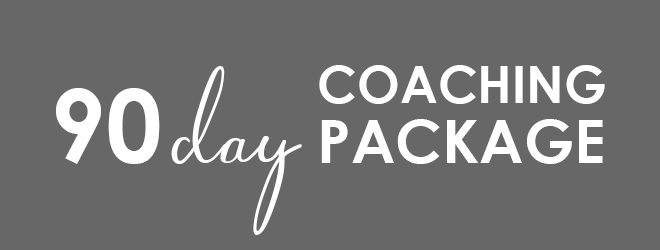 90 Day Coaching header