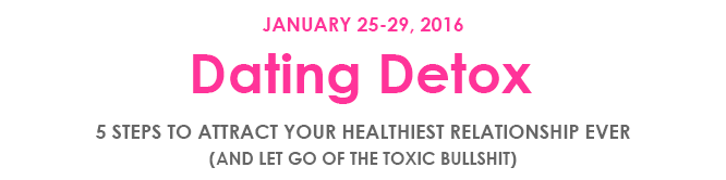 DatingDetox block pink header